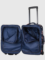 Valise Cabine Roxy Bleu luggage RJBL3240-vue-porte