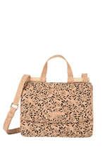 Shoulder Bag Coquelicot Cork Woomen coquelicot WCOL11