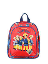 Backpack 2 Compartments Sam le pompier Red team sam 694356FI