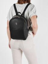 Th Essence Backpack Tommy hilfiger Black th essence AW10114-vue-porte