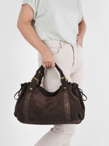 Velvet 24h Folk Shoulder Bag Gerard darel folk DRS05407-vue-porte