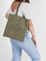 Shoulder Bag Lilas Woomen lilas WLILA01-vue-porte