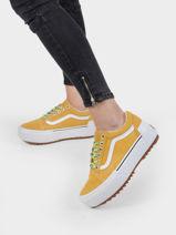 Old skool stacked sneakers-VANS-vue-porte