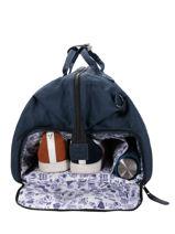 Duffle Bag Cabaia Blue travel DUFF-vue-porte