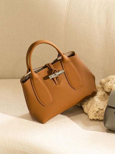 Longchamp Roseau Handbag Brown