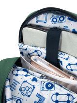 Backpack Cabaia Black tour du monde OLD-vue-porte