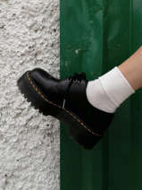 1461 platform shoes in leather-DR MARTENS