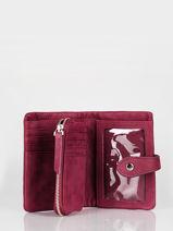 Wallet Leather Nat et nin vintage JOYCE-vue-porte