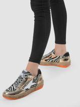 Sneakers chloe in leather-SEMERDJIAN-vue-porte