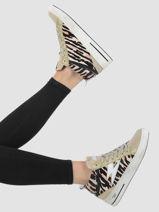 Sneakers ciello en cuir-SEMERDJIAN-vue-porte