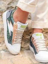 Sneakers elise in leather-SEMERDJIAN