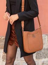 Shoulder Bag Cameryn Leather Lauren ralph lauren Brown cameryn 31837539