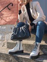 Hobo Bag Hannah Leather Michael kors Black hannah T1GNNL2U