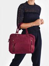 Shopping Bag Vintage Leather Nat et nin vintage MACY-vue-porte