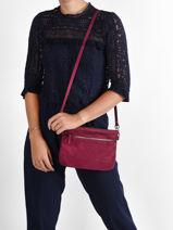 Leather Vicky Crossbody Bag Nat et nin vintage VICKY-vue-porte