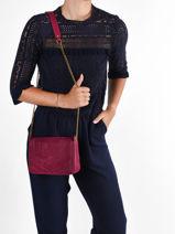 Crossbody Bag Vintage Leather Vintage Leather Nat et nin vintage CAPRI-vue-porte