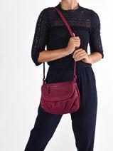 Shoulder Bag Vintage Leather Nat et nin vintage JEN-vue-porte