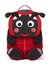 Backpack Affenzahn Red large friends AFZ-FAL2