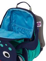 Backpack Affenzahn Blue large friends FAL1-vue-porte