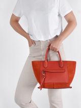 Longchamp Mailbox soft Handbag Multicolor-vue-porte