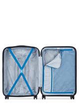 Hardside Luggage Comete + Delsey Black comete + 3041810-vue-porte