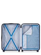 Hardside Luggage Comete + Delsey Black comete + 3041821-vue-porte