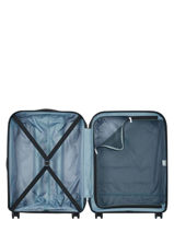 Hardside Luggage Binalong Delsey Black binalong 3101821-vue-porte