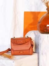Top Handle S Ninon Leather Lancel ninon A09221