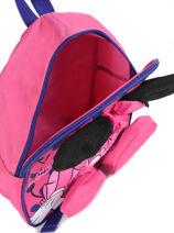 Backpack Mini Minnie White dot - 0MINNI03-vue-porte