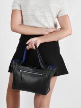 Medium Leather Jade Satchel Le tanneur Black jade TJAD1610-vue-porte