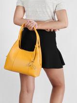 Leather Juliette Shoulder Bag Le tanneur juliette TJET1060-vue-porte