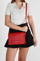 Leather Judith Crossbody Bag Le tanneur judith TJUD1210-vue-porte