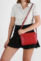 Medium Leather Judith Crossbody Bag Le tanneur judith TJUD1110-vue-porte