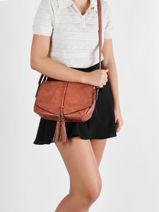 Shoulder Bag Adele Miniprix Brown adele MD5353-vue-porte