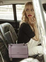 Shoulder Bag Blazer Leather Etrier Violet blazer EBLA001M