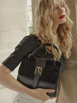 Shoulder Bag Queenstone Leather Etrier Black queenstone EQUE001M
