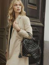 Shoulder Bag Cavale Leather Etrier Black cavale ECAV004M