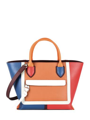 Longchamp Mailbox Sacs porté main Rouge