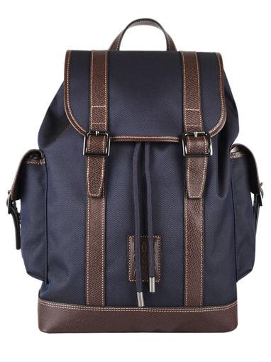 Longchamp Boxford Backpacks Blue