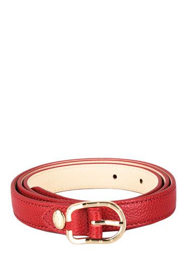 Longchamp Le foulonné Ceinture Rouge