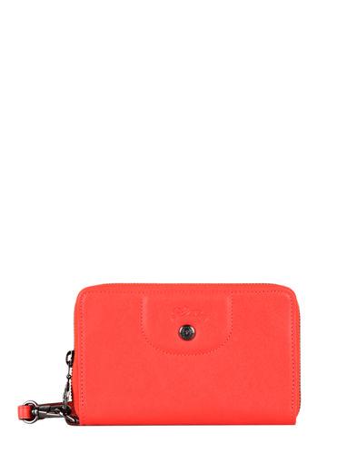 Longchamp Le pliage cuir Wallet