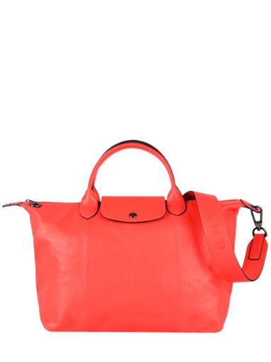 Longchamp Le pliage cuir Handbag
