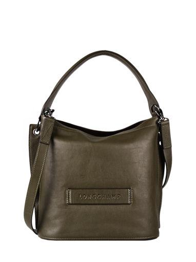Longchamp Longchamp 3d zip Sacs porté travers Vert