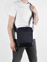 Leather And Nylon Gaston Crossbody Bag Le tanneur gaston TGAS2210-vue-porte