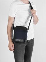 Leather And Nylon Gaston Crossbody Bag Le tanneur gaston TGAS2200-vue-porte