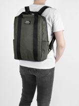 Nara Business Backpack Ecoalf backpack NARA-vue-porte