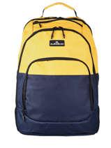Backpack 2 Compartments Quiksilver Black accessories QYBP3109