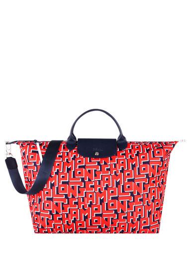 Longchamp Rodeo Sacs de voyage Rouge