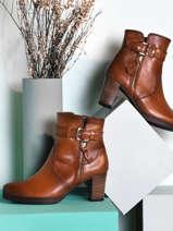 Bottines in leather-GABOR
