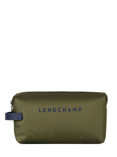 Longchamp Paname Toiletry case Green